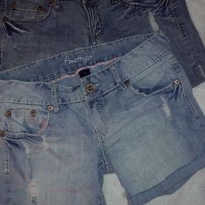 Jean Shorts (Set of 2)